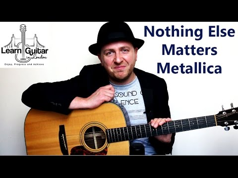 Nothing else matters acordes guitarra