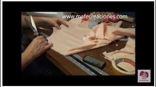 Repeat youtube video Hacer muñeca de trapo sin moldes parte 1