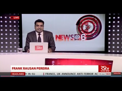 English News Bulletin – June 14, 2017 (6 pm)