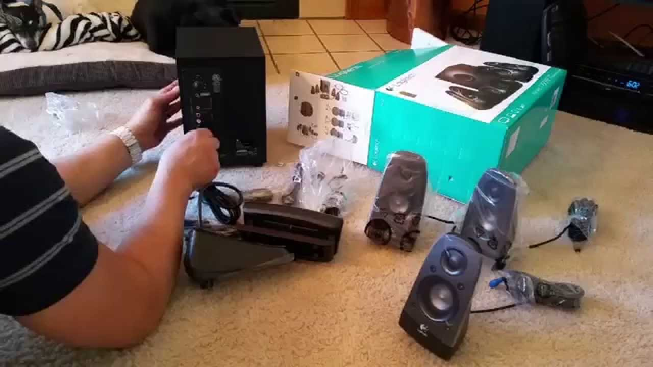 efa087dd47f LOGITECH Z506 Stereo System 150 Watts - YouTube