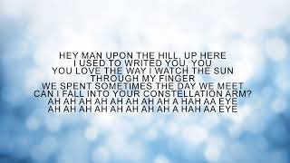 MAN UPON THE HILL - STARS RABBIT (LYRIC)