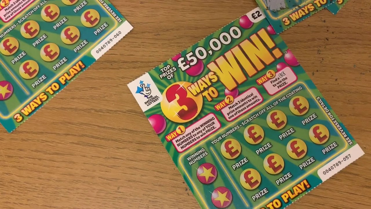 Scratch card time 🤑🤑 new 2019 3 ways to win💰 national lottery cards!!  🤑😍 - YouTube
