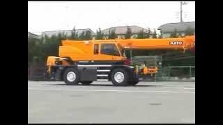 Кран KATO SR 250R EJIB, номин. г/п 25 тонн (Rough Terrain Crane KATO SR 250R)(Продажа снегоходов Ohara и японской спецтехники на нашем сайте http://www.snowplow27.com/, 2015-10-15T05:55:52.000Z)