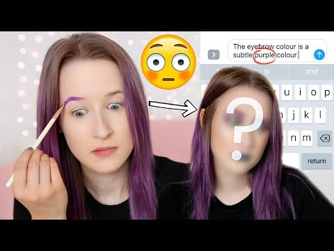 PREDICTIVE TEXT CHOOSES MY MAKEUP!? | Sophie Louise