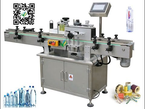 Mineral Water Labeling Machine With Coder Pet Bottle Label