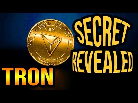TRON TRX - dirty little secret REVEALED