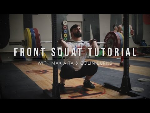 Front Squat Tutorial   JTSstrength.com