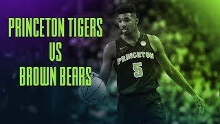 Princeton Tigers vs Brown Bears   NCAAB Picks   With Joe Gavazzi