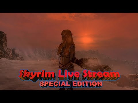 Skyrim SE Live Stream [[Modded, ENGLISH]] $$ Super Chats for Green Beer Money $$