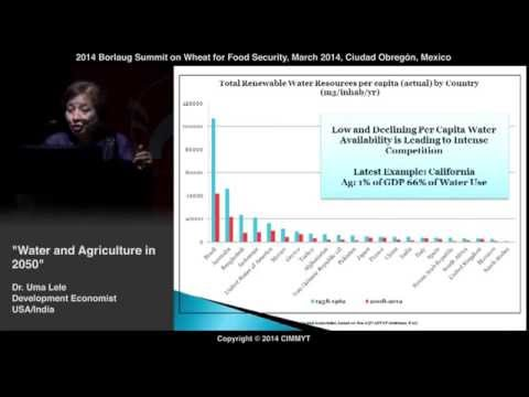 Water for Agriculture in 2050: Are We Ready? by Uma Lele (USA/India)