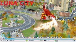 Zagrajmy w SimCity cz.6 Atak Jaszczura i Nowe miasto