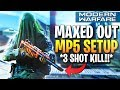 3 SHOT KILL BEST MP5 CLASS SETUP MODERN WARFARE! (MP5 Best Class Setup COD MW)