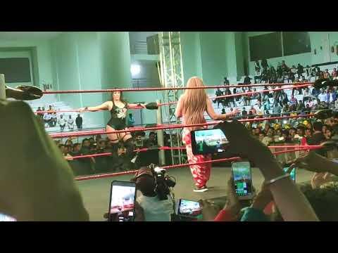 Rakhi Sawant Wrestling : Full Fight Video राखी सावंत का हुआ बुरा हाल