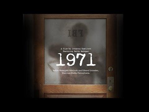 1971 - FBI Break In Documentary with Johanna Hamilton + Betty Medsger