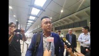 """梁先生自述抵達香港國際機場被示威者襲擊:這是""""香港之恥"""""""
