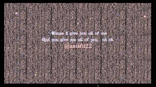 ALL OF ME - ZACK KNIGHT (COVER) LYRIC