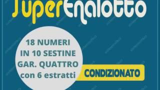 SuperEnalotto  - 18 numeri in 10 sestine
