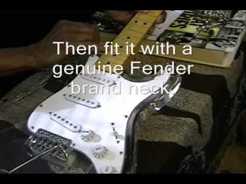 The Origin Of The CLEARLY R&B FUNKY Fender Stratocaster FunkGuitarGuru Funk