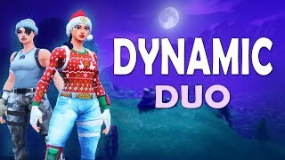 DYNAMIC DUO | HYPE END-GAME COMMENTARY Ft. IMTHEMYTH! (Fortnite Battle Royale)