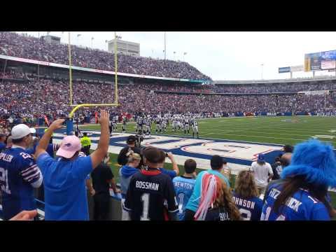 Buffalo Bills comeback against Carolina (Final plays)