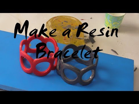 Make a Resin Bracelet with ComposiMold, Plastic Jewelry Molds