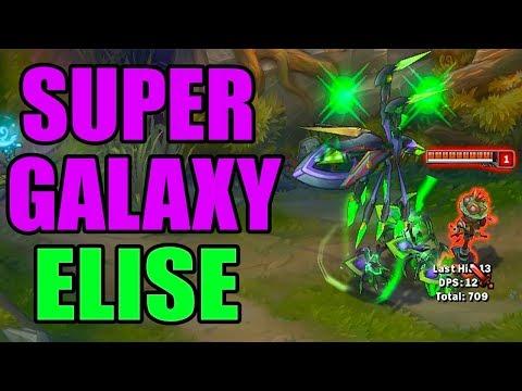 SUPER GALAXY ELISE SKIN SPOTLIGHT FINAL RELEASE - League of Legends