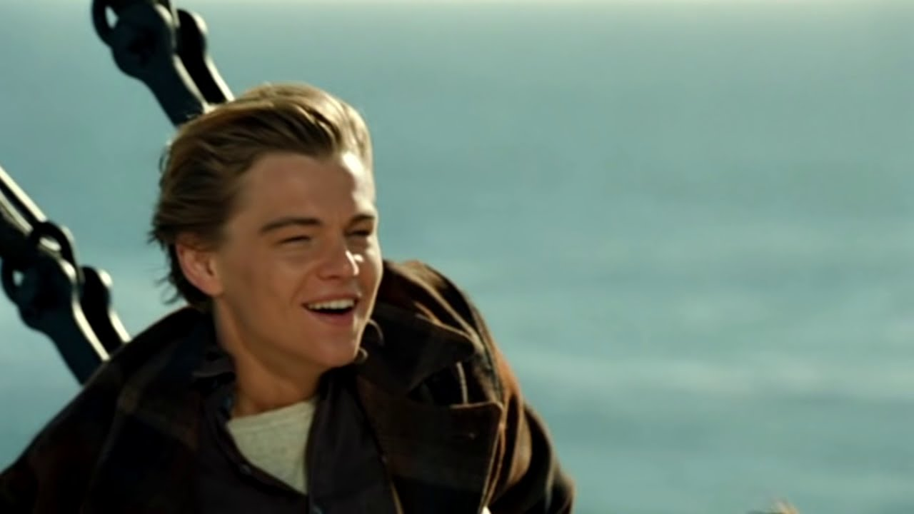 Leonardo DiCaprio. Moments from TITANIC. 2012 HD - YouTube