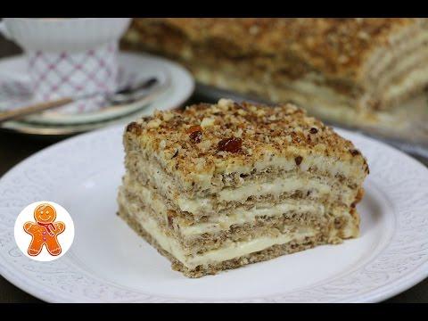 Торт Египетский необычайно нежный и безумно вкусный