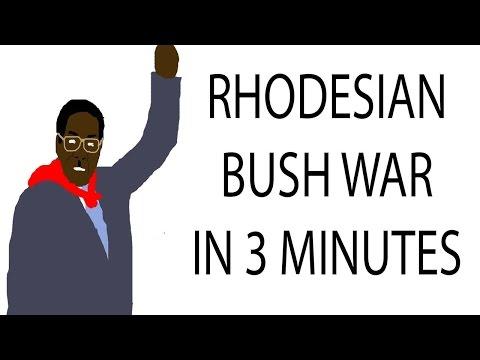 Rhodesian Bush War   3 Minute History