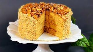 Golden Key Cake Recipe    Торт Золотий Ключик Рецепт