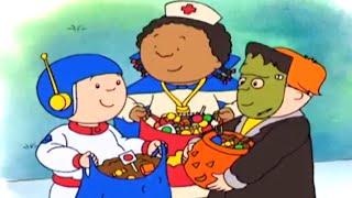 Kajtus po polsku | Kajtus i Halloween | Bajki dla dzieci | Animacja kreskówka | Caillou Polish