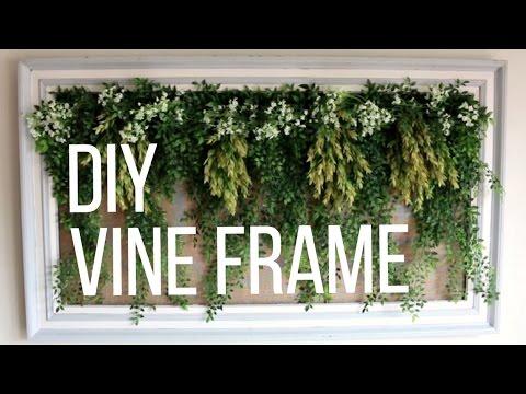 DIY Vine Frame