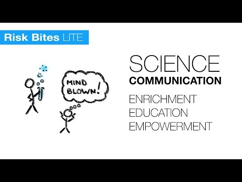 Science communication: Why do it?