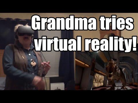 GRANDMA TRIES VR