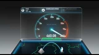 Speedtest  Fibre Optique FTTH Orange Brioude 43100