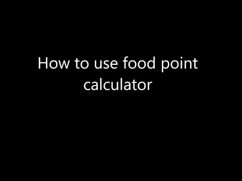 how-to-use-food-point-calculator