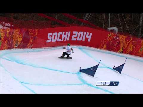 Men's Para - Snowboard Cross 1 | Snowboarding | Sochi 2014 Winter Paralympic Games