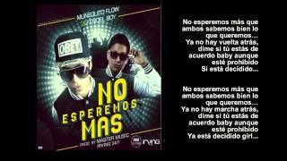 Muñequito Flow & Fendel Boy - NO ESPEREMOS MAS (Official) LETRA