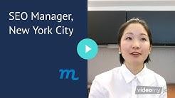SEO Manager Job,  New York City