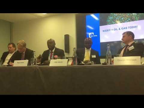 Dayo Idowu Partner OOLLP at Africa week Oil and Gas Panel 3  Senate passes bill