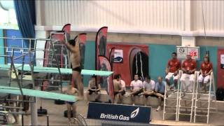 Tom Daley - 2011 British Championships 3M All dives