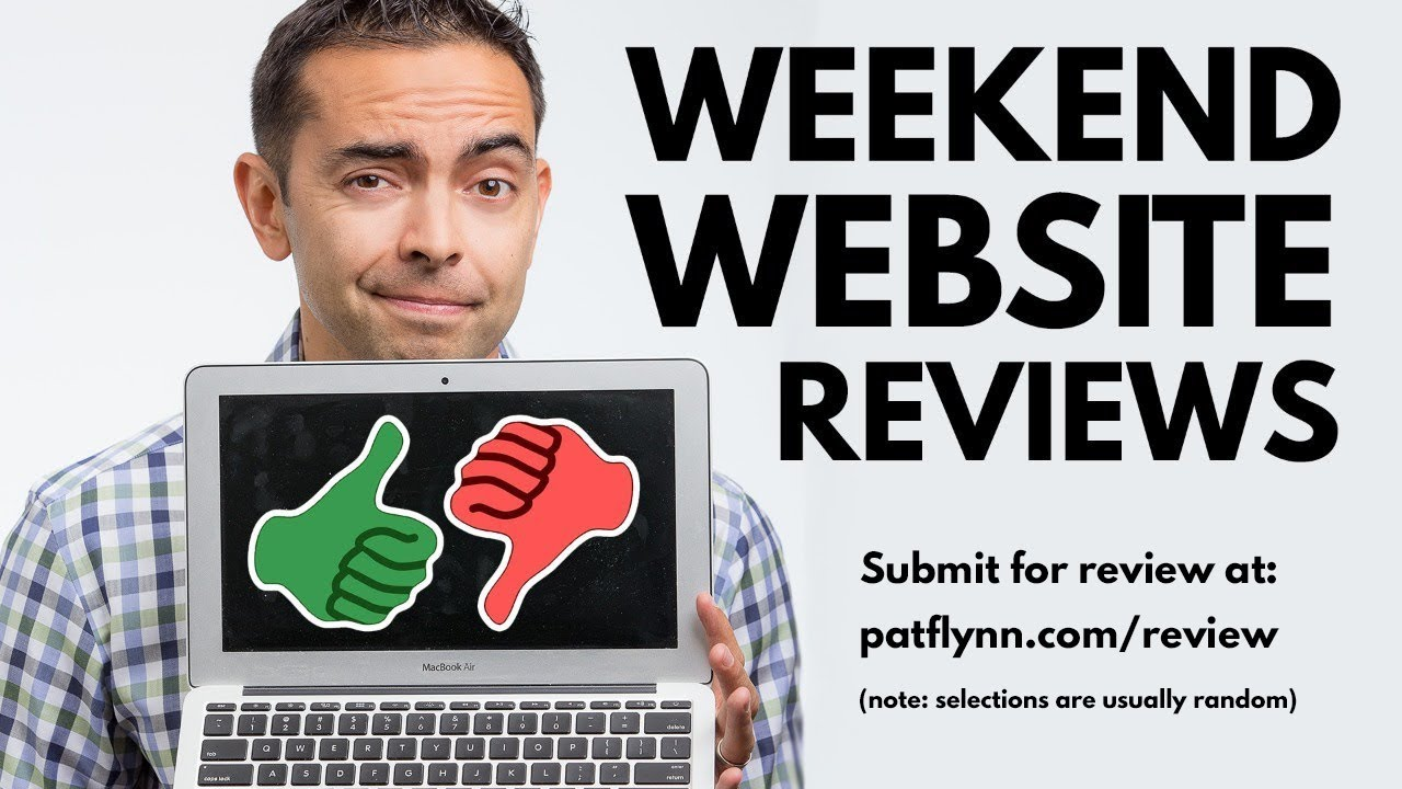 Weekend Website Reviews - The Income Stream with Pat Flynn - Day 72