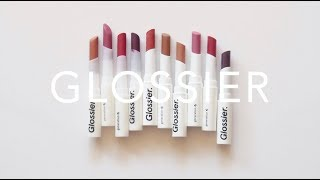 Glossier Generation G   Lipstick Review and Collection