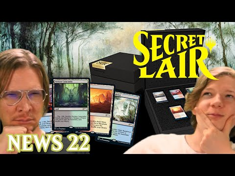 MTG Secret Lair Spoiler Deutsch Magic The Gathering News 22 Trader Info Review Booster Display
