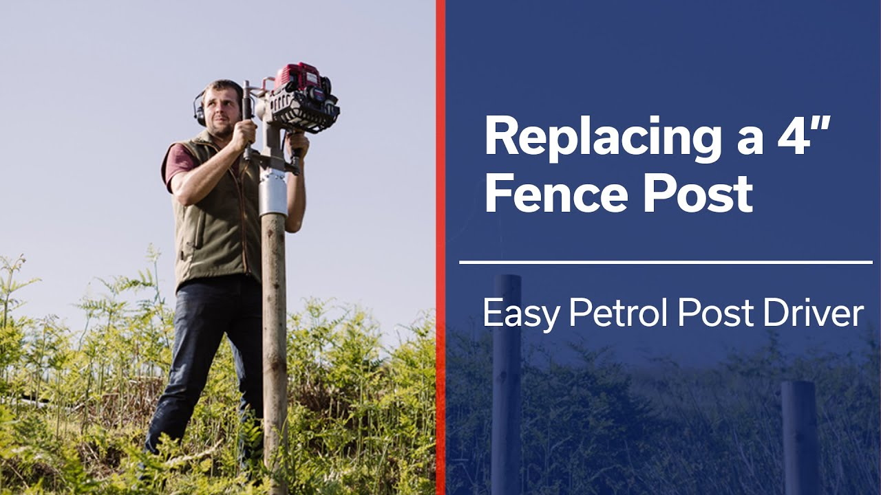 Easy Petrol Post Driver | Post Knocker | Fence Post Driver