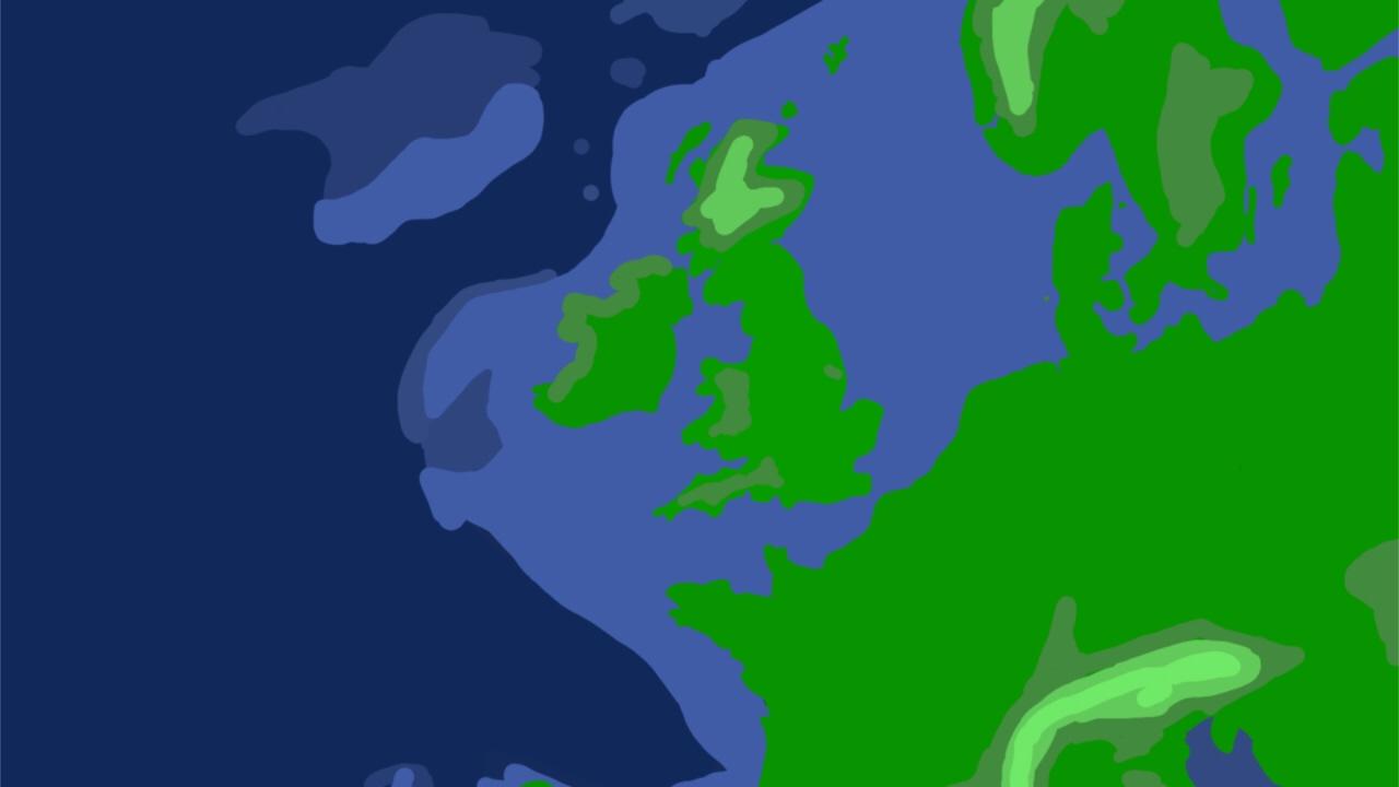Creating Europe Height Map YouTube - World heightmap