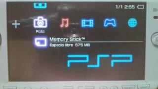 Descarga, Temas de neón para PSP en PTF - almadgata