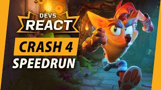 Crash Bandicoot 4: It's About Time Developers React to Speedrun