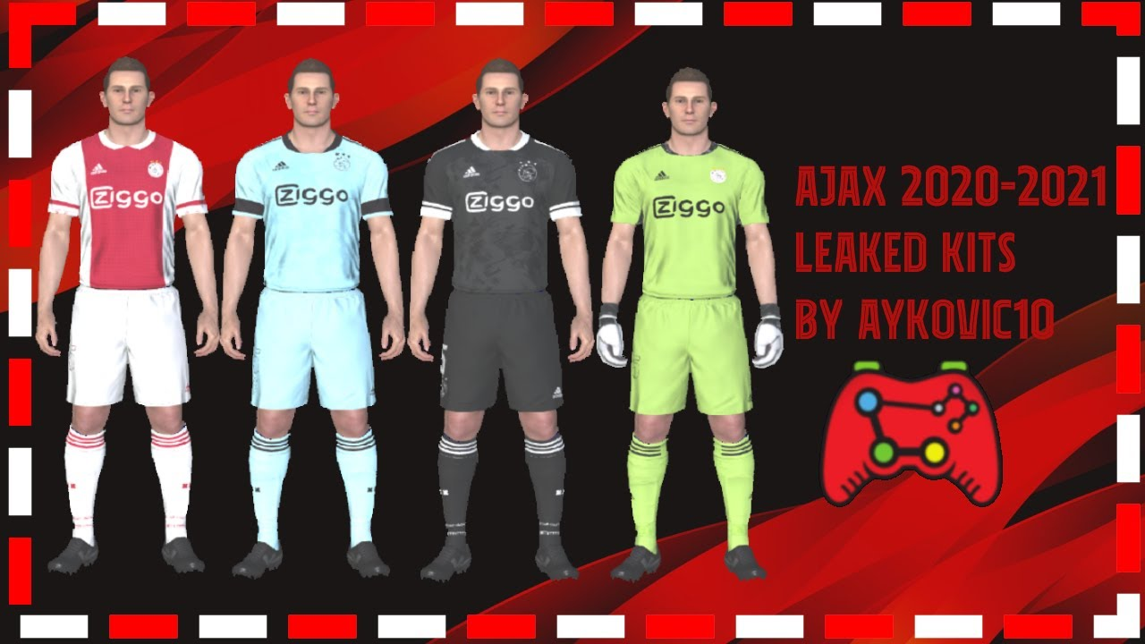 PES 2017|Ajax Amsterdam Official Leaked Kits 2021|by ...