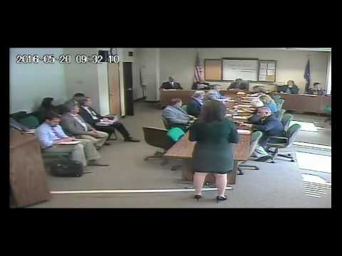 Finance, personnel & Higher Education Committee May 20, 2016